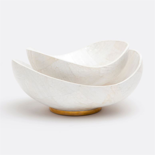 Tarian Kabibe Natural Shell Bowl, Large