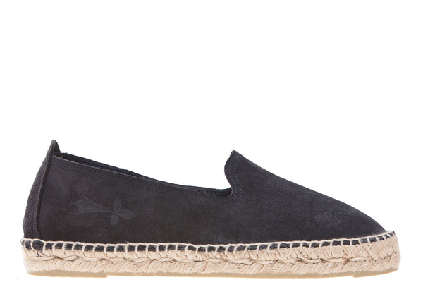 Manebi Espadrille, Patriot Blue Suede