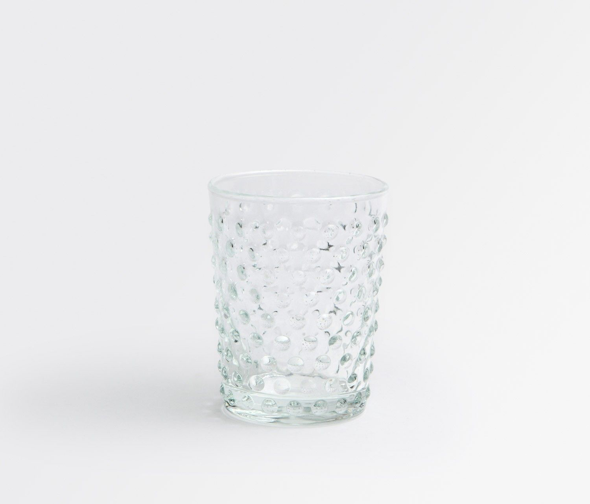 Hand Blown Clear Juice Glass