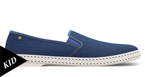 Kids Denim Slip On