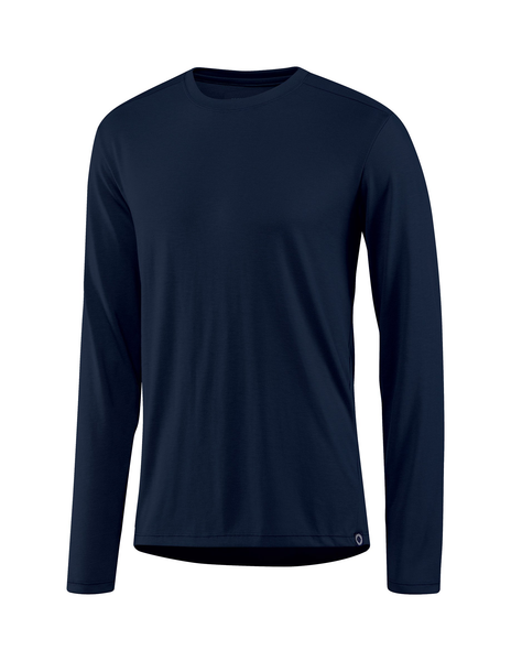 Fisher + Baker Men's Everyday Cashmere Long Sleeve Crew