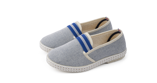 Kids Oxford Slip On, Bleu