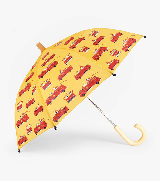Vintage Fire Trucks Umbrella