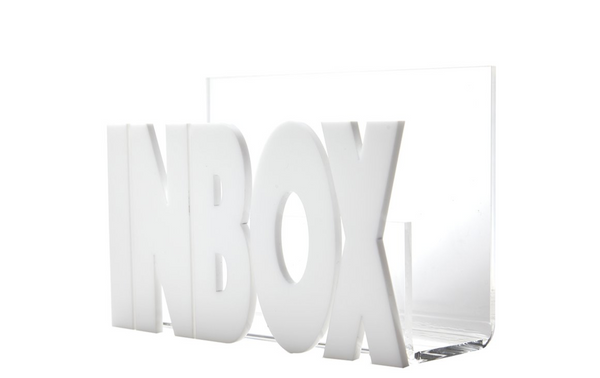 Small White Inbox
