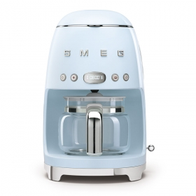 SMEG Drip Filter Coffee Machine, Pastel Blue