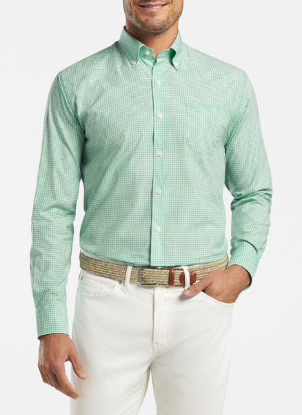 Peter Millar Brenton Cotton-Blend Sport Shirt