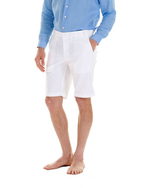 Pink House Mustique Men's Linen Shorts