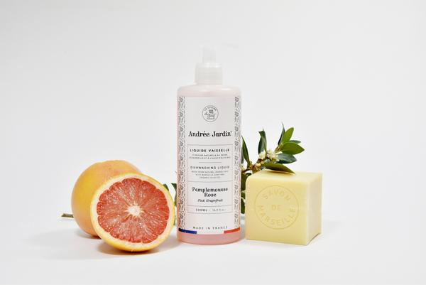 Dish Washing Liquid Soap, Grapefruit & Rose