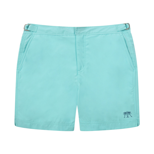 Pink House Men's Solid Beach Shorts