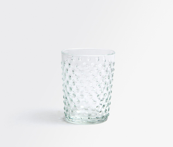 Hand Blown Clear Tumbler Glass
