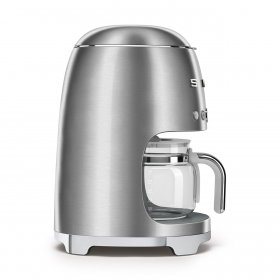 SMEG Drip Filter Coffee Machine, Brushed Stainless Steel