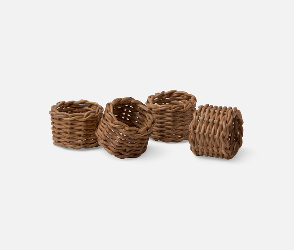 Honey Rattan Napkin Ring