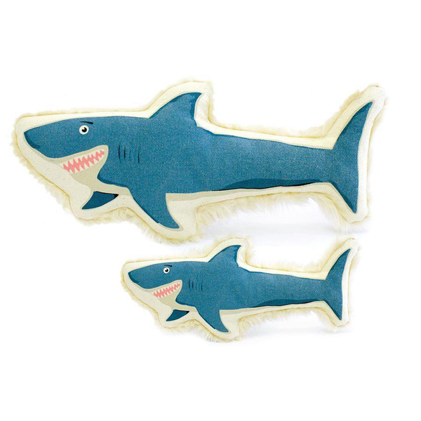 Shark Canvas Dog Toy, Large