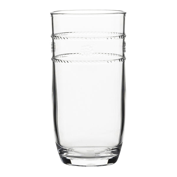 Juliska Isabella Acrylic Tall Beverage Glass