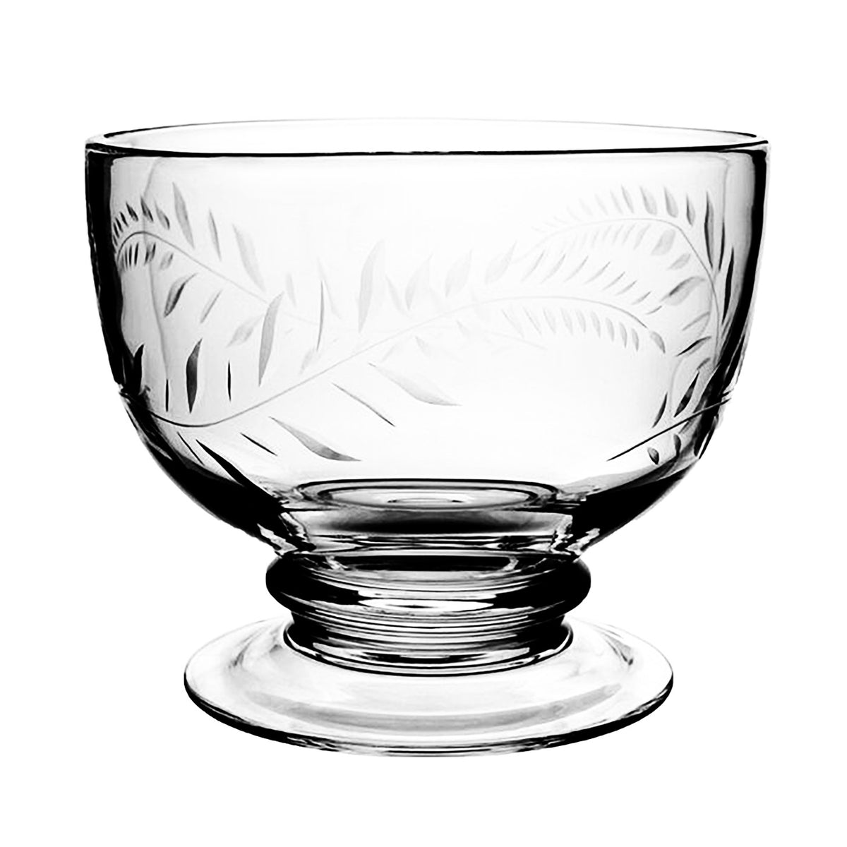 William Yeoward Crystal Jasmine Footed Serving Bowl Hive Home Gift And Garden