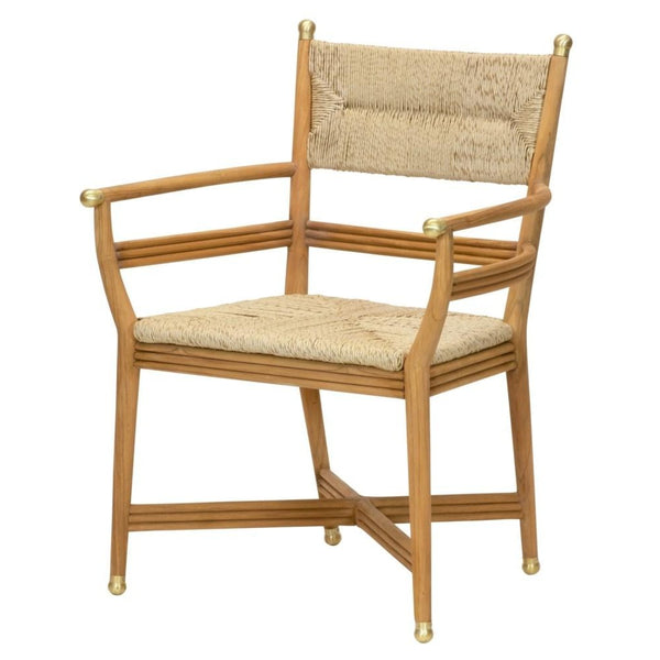 Kelmscott Arm Chair, Natural