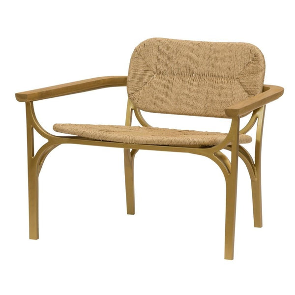 Kelmscott Lounge Chair, Natural
