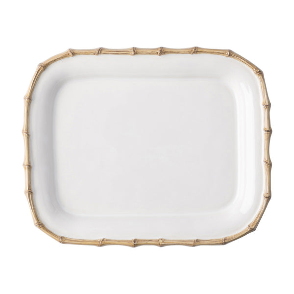 Juliska Classic Bamboo Small Rectangular Platter