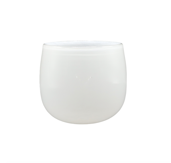 Large Pot in White