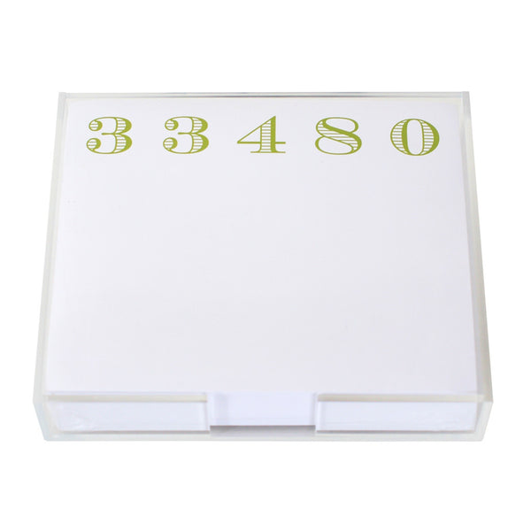 33480 Large Notepad