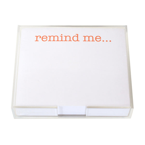 Remind Me Large Notepad