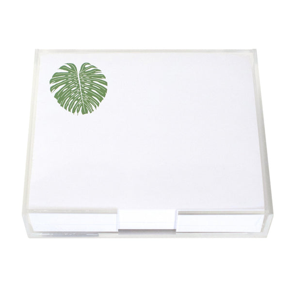 Monstera Leaf Large Notepad
