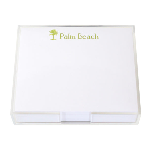 Palm Beach Large Notepad