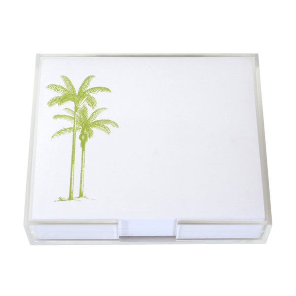 Palm Tree Large Notepad