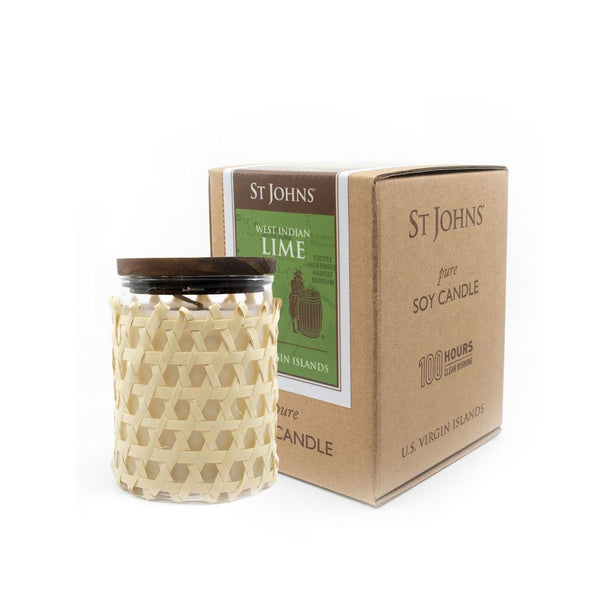 St. John's Lime candle