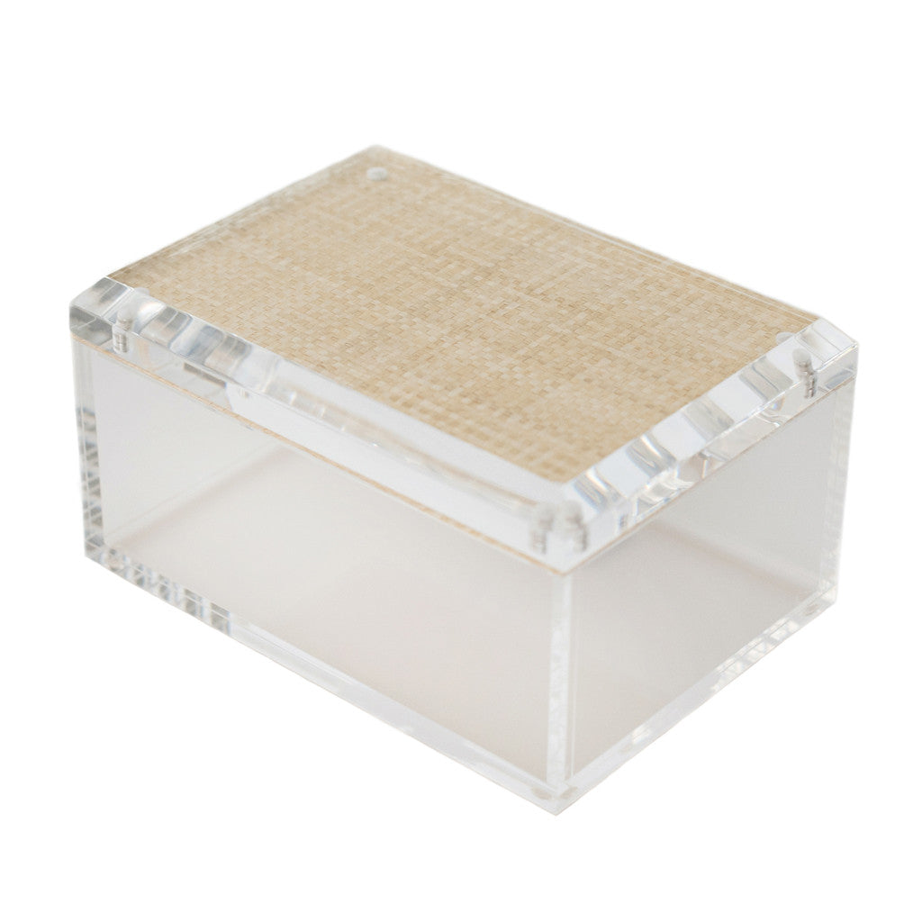 Medium Lucite Box Hive Home Gift And Garden