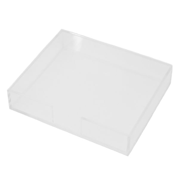 Lucite Notepad Holder, Large
