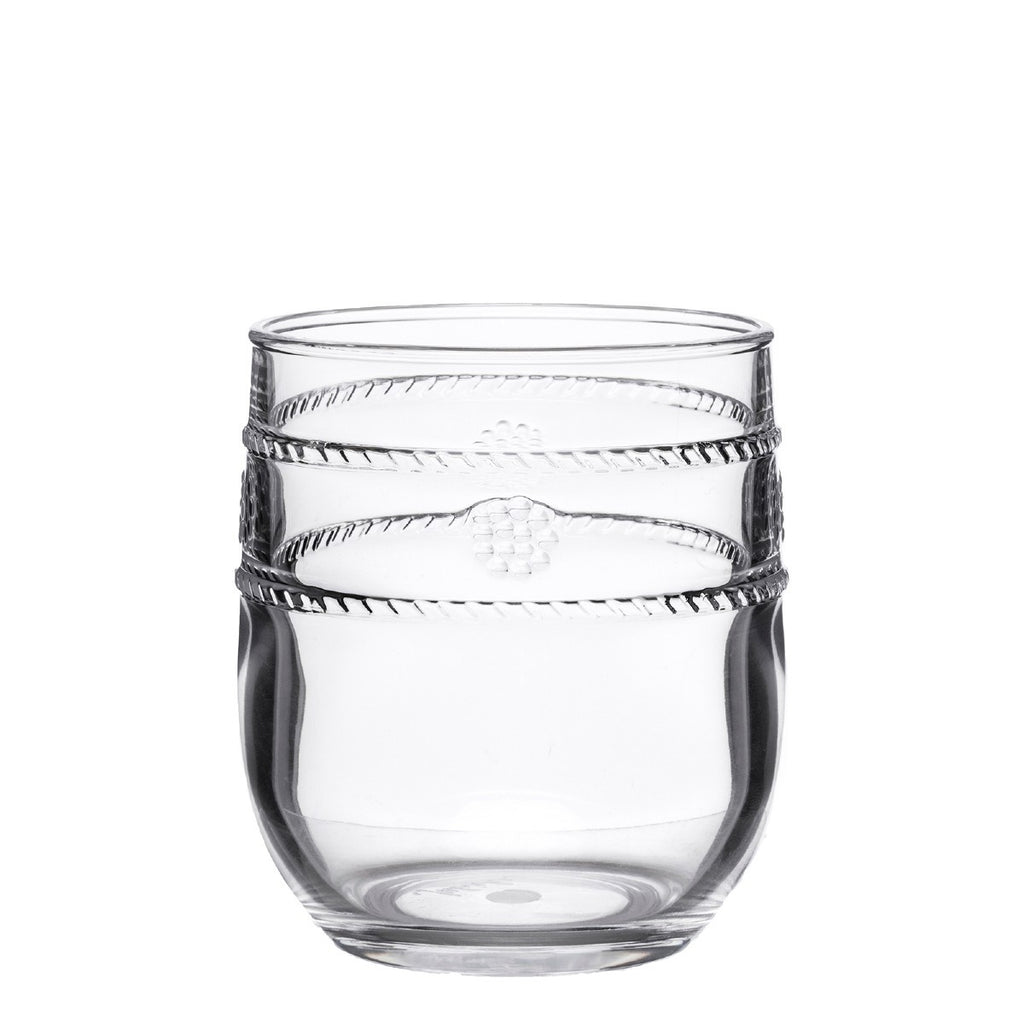 Juliska Isabella Acrylic Clear Tumbler Hive Home Gift And Garden