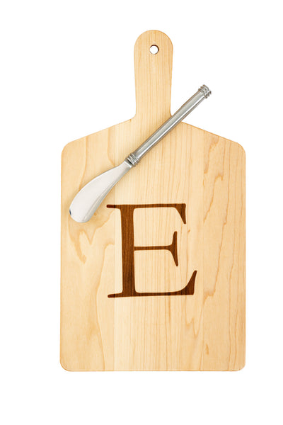 "Maple Cheese Board ""E"""