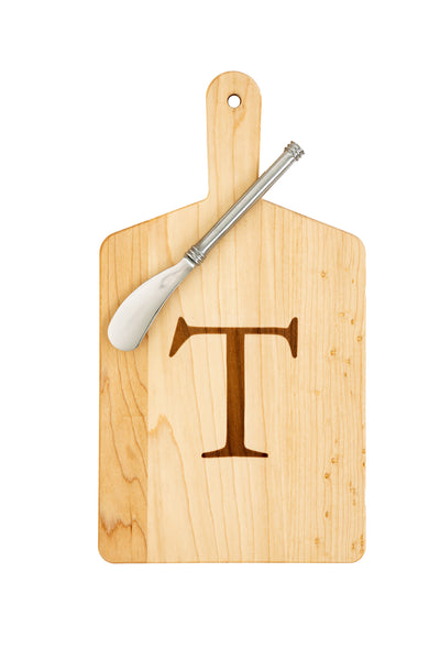 "Maple Cheese Board ""T"""