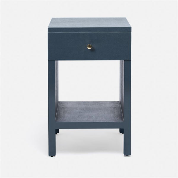 Maris Single Nightstand, Navy