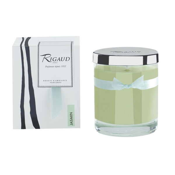 Rigaud Jasmin Light Green Candle, Medium