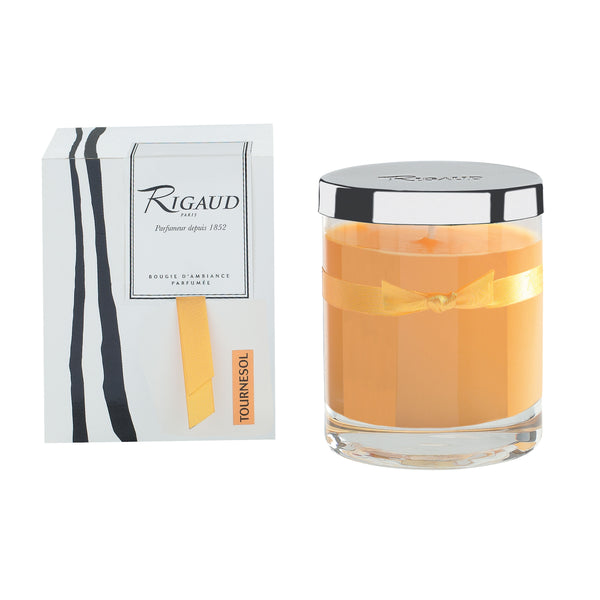 Rigaud Tournesol Yellow Candle, Medium