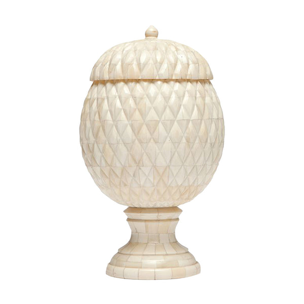 alatea, pinecone urn, natural bone