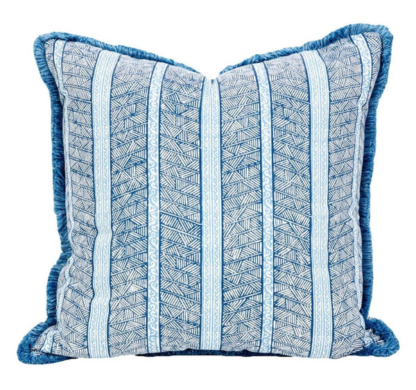 Outdoor Jaya Indigo Pillow