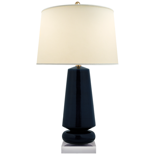 Parisienne Table Lamp, Denim