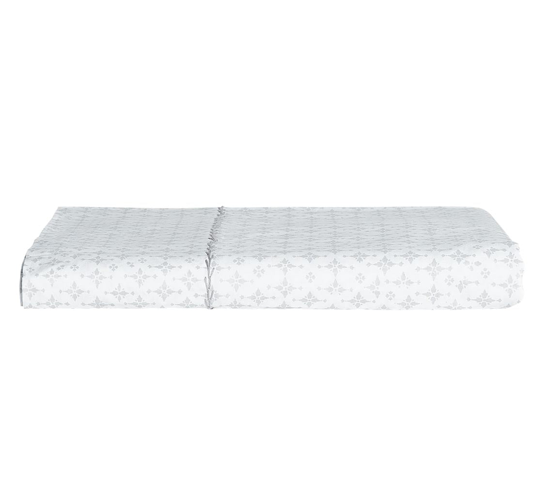John Robshaw Pataka Gray Fitted Sheet