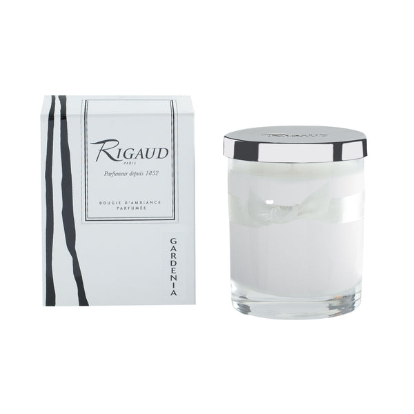 Rigaud Gardenia White Candle, Small