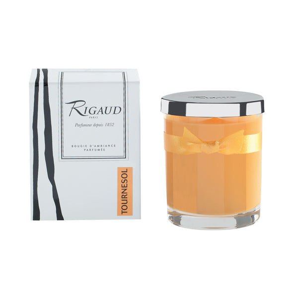 Rigaud Tournesol Yellow Candle, Small