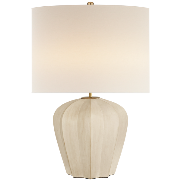 Pierrepont Lamp, Stone White