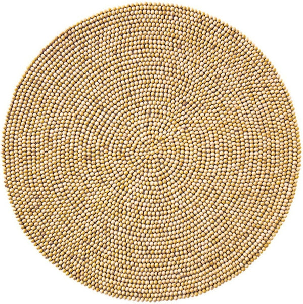 Natural Wood Bead Placemat