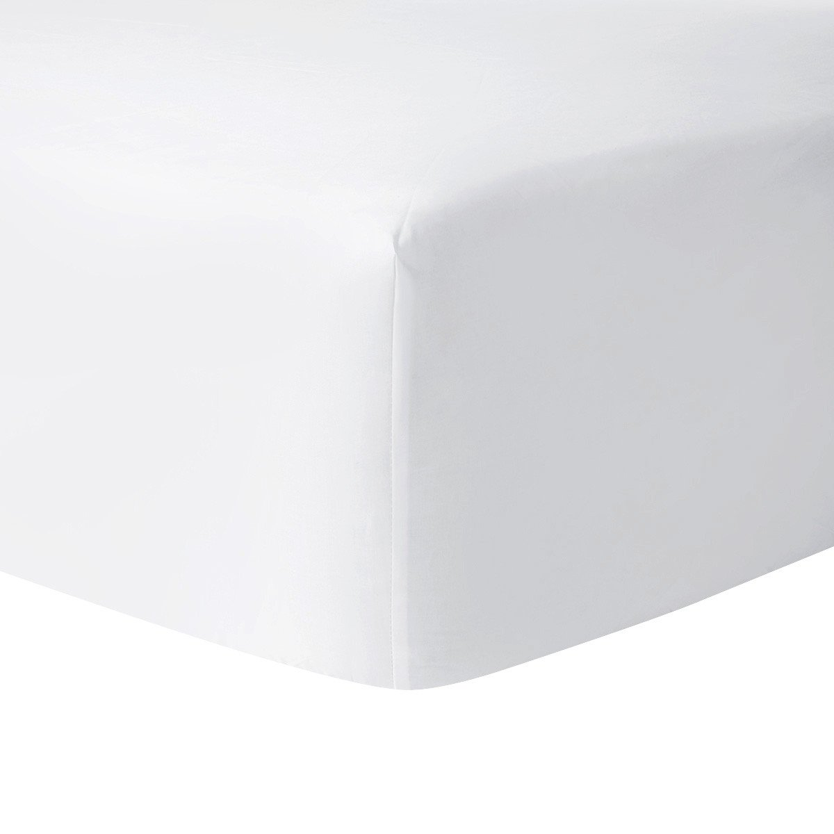 Yves Delorme Roma Blanc Fitted Sheet