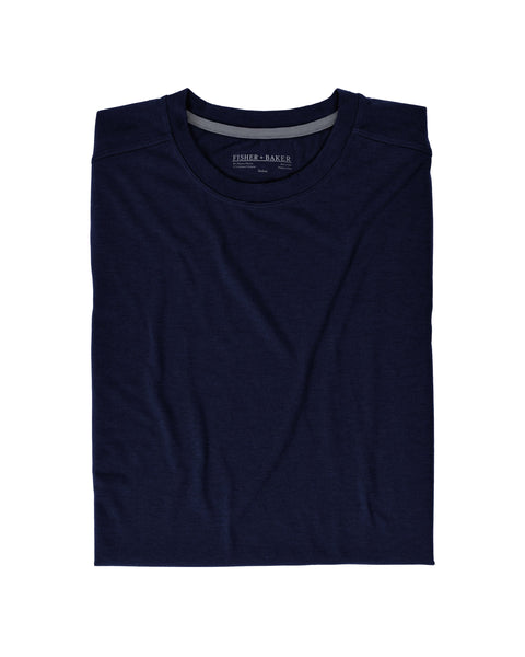 Fisher + Baker Men's Everyday Cashmere Short Sleeve Crew