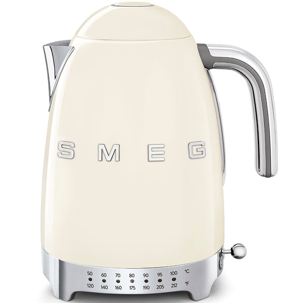 SMEG Variable Temperature Kettle, Cream