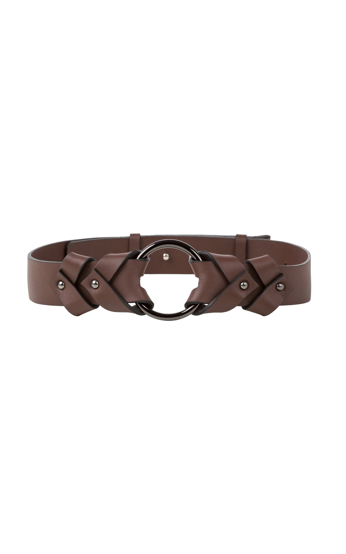 Dorothee Schumacher Soft Contrast Ring Belt