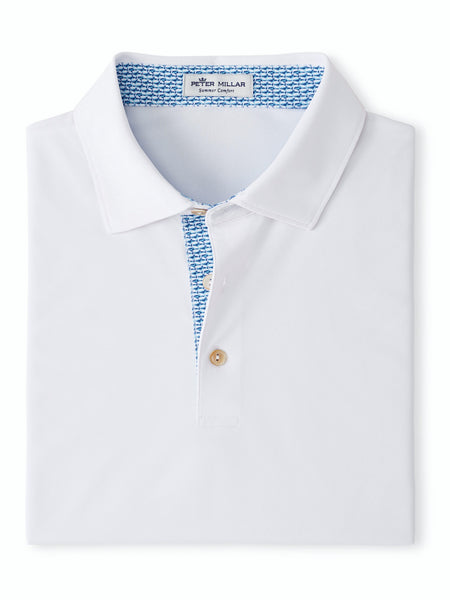 Peter Millar Solid Performance Polo Contrast Trim